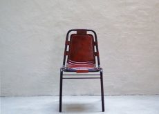 IRON LEATHER CHAIR アイアンレザーチェア