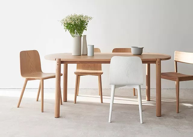 COVE 110 roud dining table